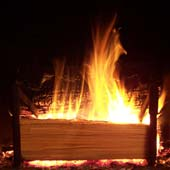 How To Build The Perfect Real Fireplace Fire